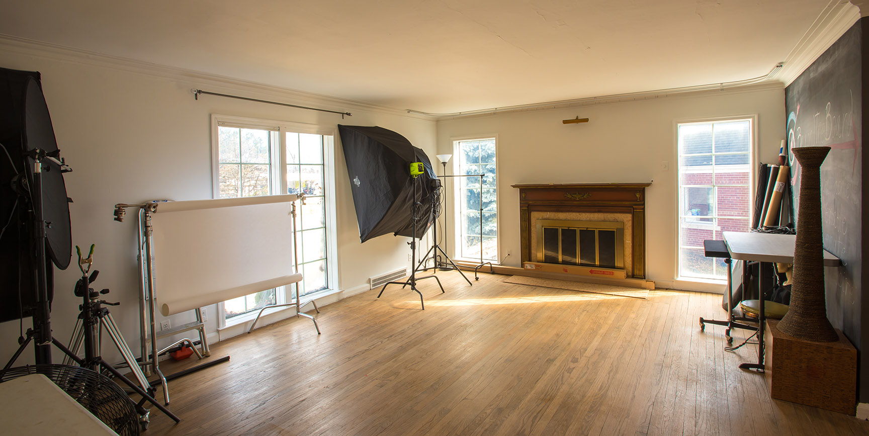 "Our New Metro Detroit Photography Studio, ""White House Studio"" in Pleasant Ridge, Michigan"