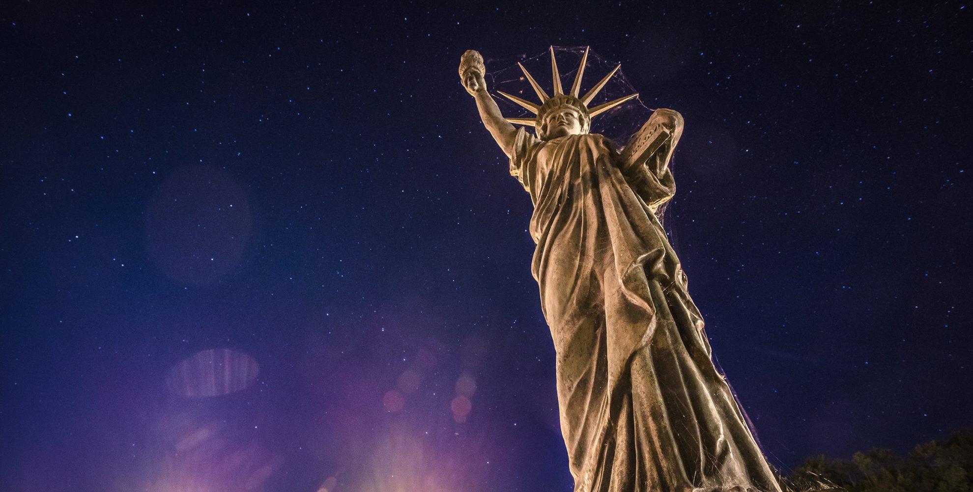 statue of liberty Mackinac Island