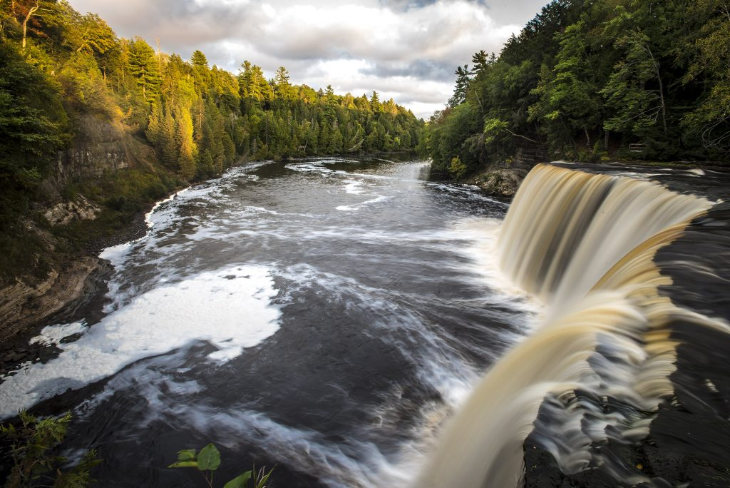 Photo of Tahquamenon Falls in Upper Peninsula of Michigan