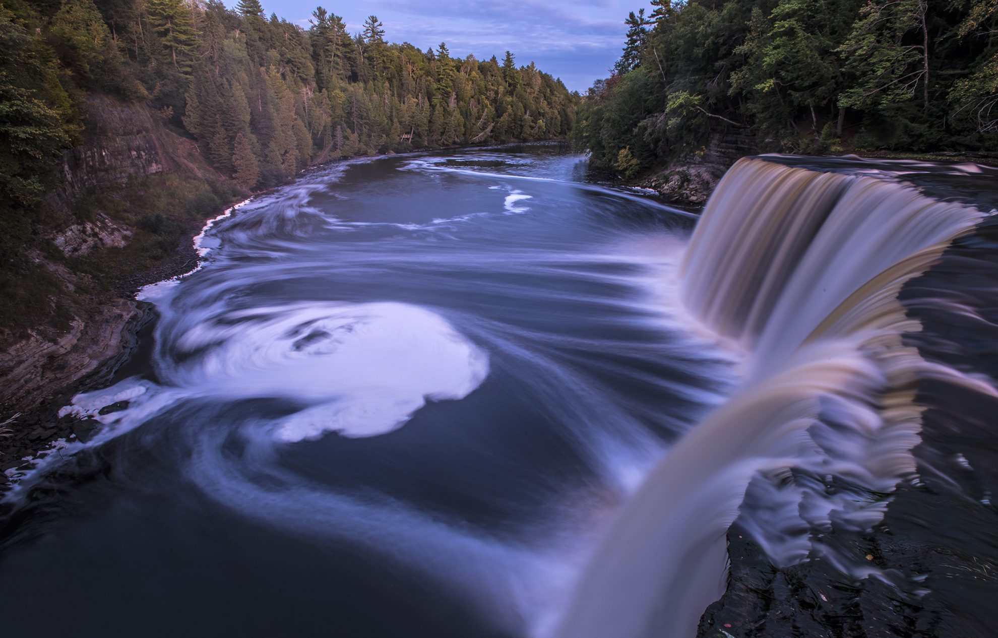 Photo of Tahquamenon Falls in Upper Peninsula of Michigan