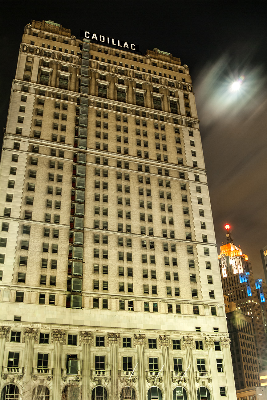 Photos Of Downtown Detroit Michigan Cadillac Hotel Jeff White